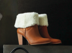 Shearling bootie by UGG