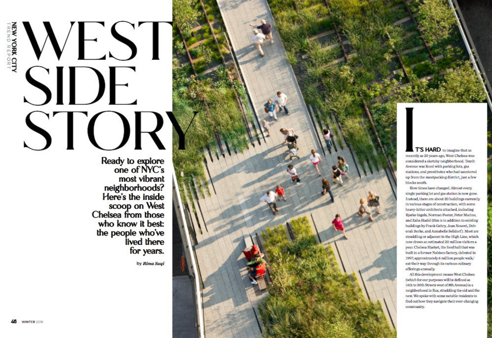 Insider's guide to Chelsea and the High Line
