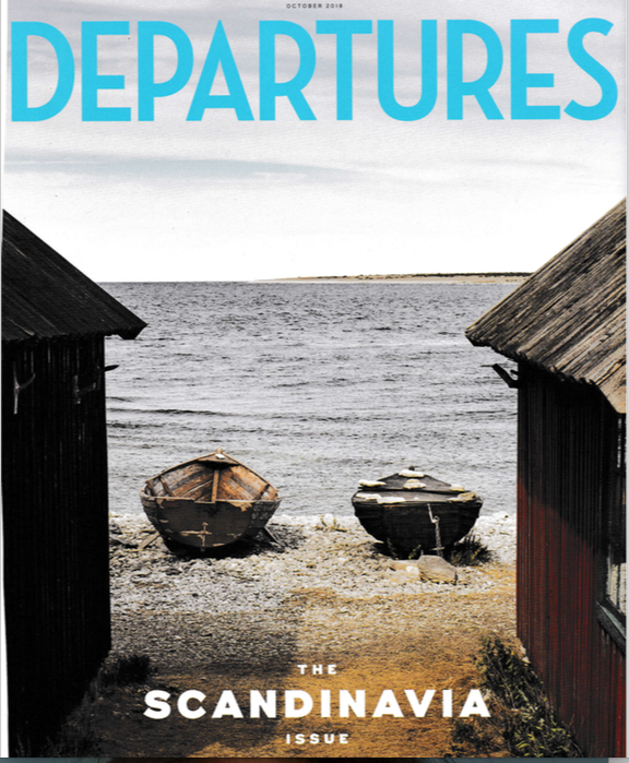 Departures Magazine Scandinavia issue
