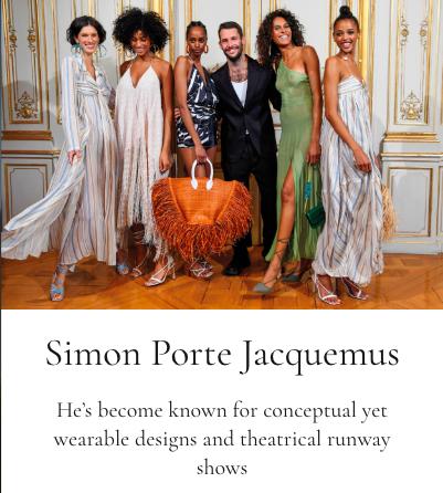 Jacquemus, Gallerie Magazine, Rima Suqi