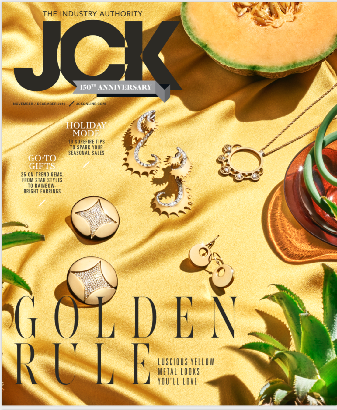 JCK Magazine November December 2019 gold issue