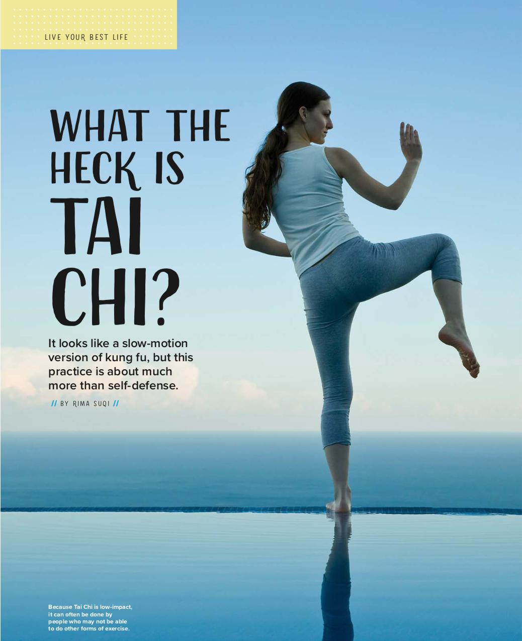 Tai Chi, Rima Suqi, Qi Gong, Mindfulness Journal