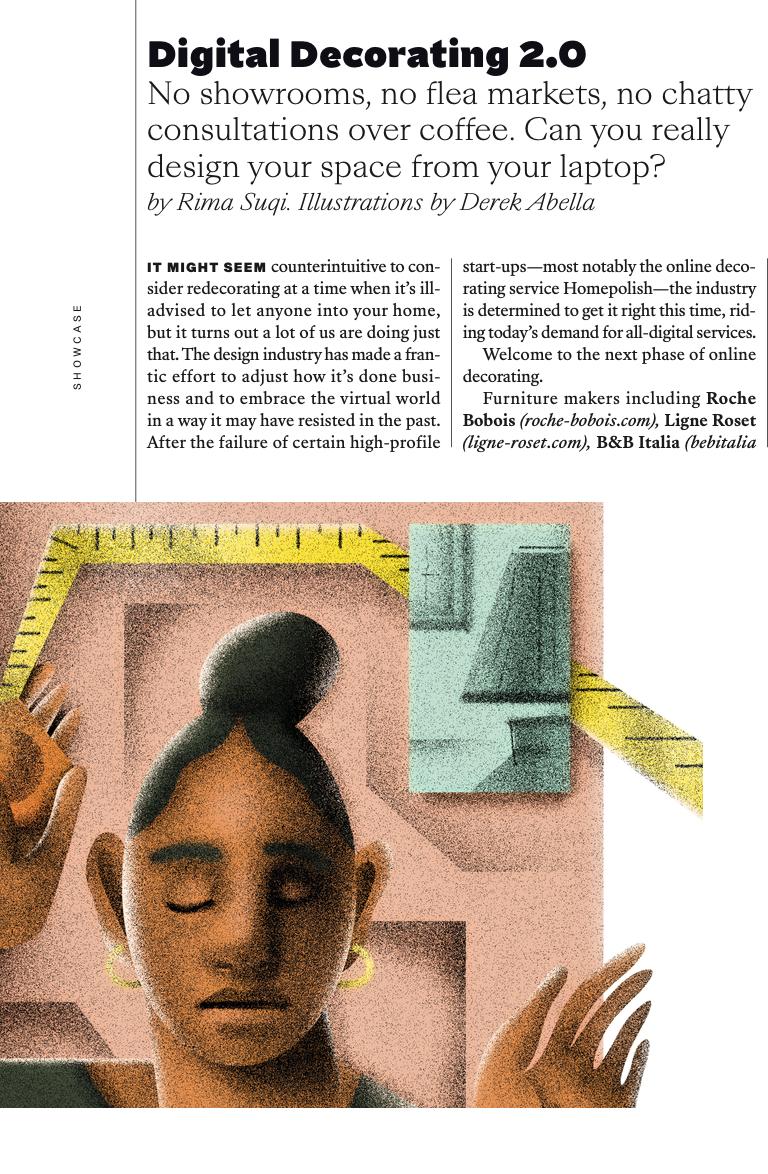 Decorating in the Digital Age, Departures magazine, Rima Suqi