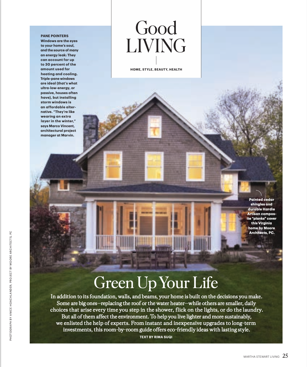 Rima Suqi, Martha Stewart Living, Sustainable Home Guide