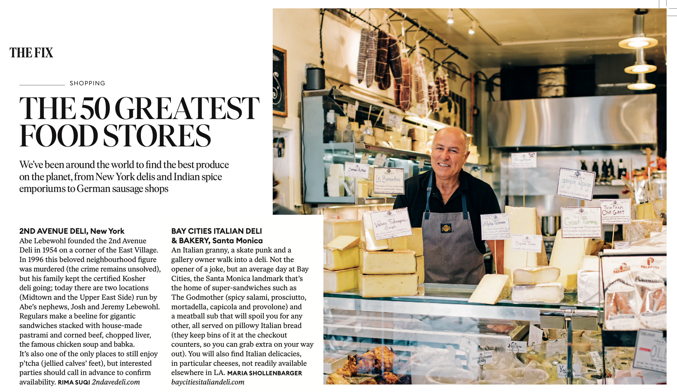 50 Greatest Food Stores, Rima Suqi, How To Spend It