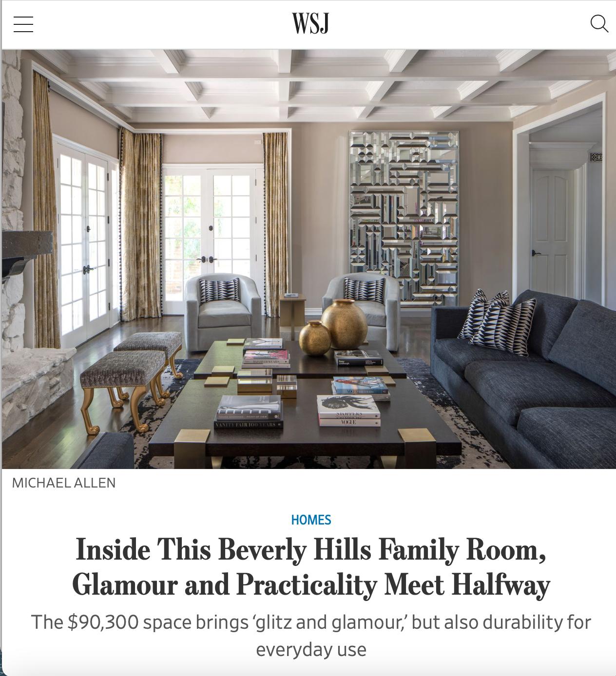 Ryan Saghian, Rima Suqi, Wall Street Journal, Annotated Room