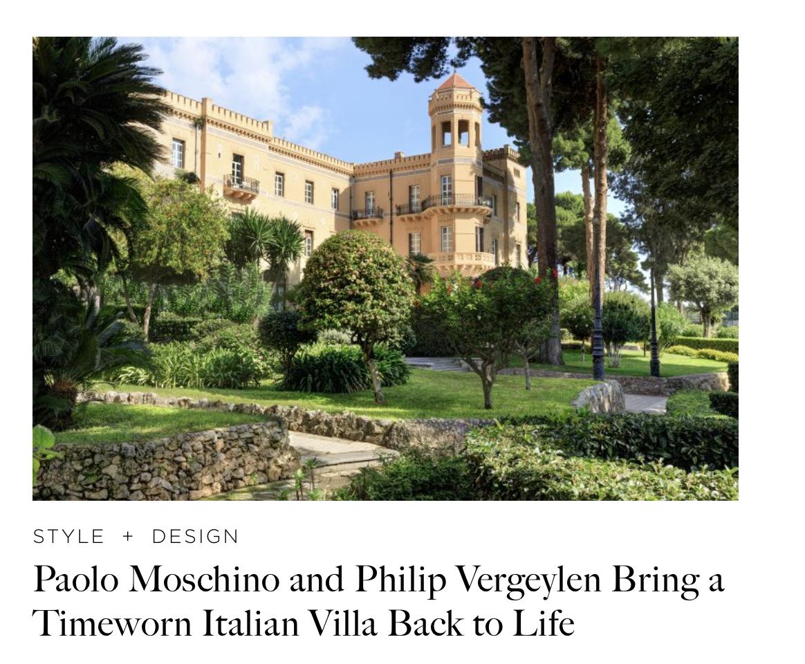 Villa Igiea, Palermo